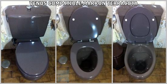 TAPAWC VENUS COMPATIBLE MARRON TERRACOTA FOTO AMIGA