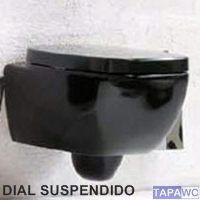 Asiento inodoro DIAL tapawc compatible amortiguado Hidra