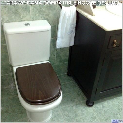 asiento inodoro dama retro tapawc compatible roca adaptable