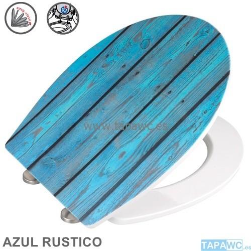 Asiento  AZUL RUSTICO AMORTIGUADO tapawc