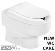 Asiento NEW WC CARE original tapawc Unisan