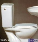 Asiento inodoro VENECIA 14,5 tapawc compatible Porsan