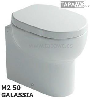 Asiento inodoro M2 - 50 CMS tapawc compatible GALASSIA