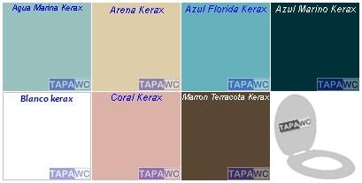 Asiento inodoro LOTO tapawc compatible Kerax