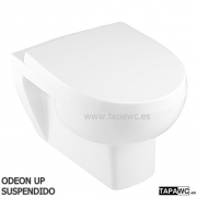 Asiento inodoro ODEON UP SUSPENDIDO 15.50 original tapawc Jacob Delafon