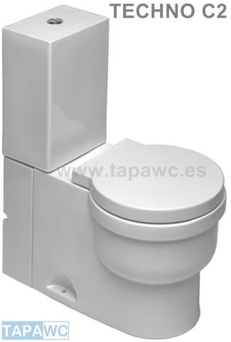 Asiento inodoro TECHNO C2 tapawc compatible Cifial