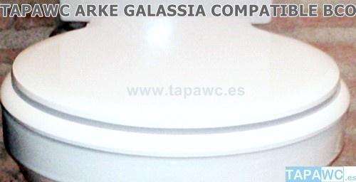 Asiento inodoro ARKE tapawc compatible GALASSIA