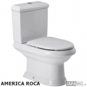 Asiento inodoro AMERICA original tapawc Roca