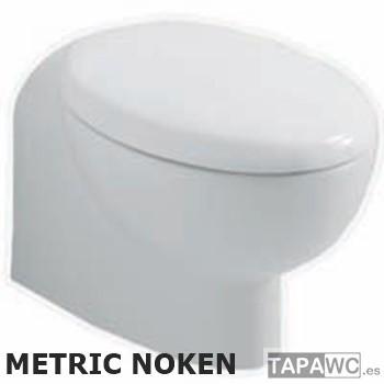 Asiento inodoro METRIC tapawc compatible Noken Porcelanosa