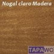 Tapa inodoro compatible NOGAL CLARO tapawc madera
