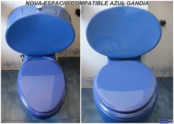 Sanitarios Baño Antiguos:Asiento inodoro NOVA ESPACIO tapawc compatible Gala NOVO