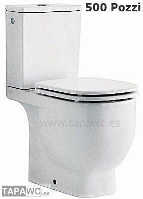 Asiento inodoro 500 tapawc compatible Pozzi Ginori