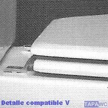 Asiento inodoro FREELANCE tapawc compatible Jacob Delafon