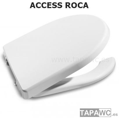 Asiento inodoro access original tapawc roca for Inodoro access