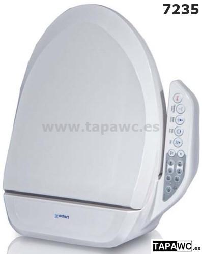 Asiento Tapa de inodoro japones multifuncion mando lateral