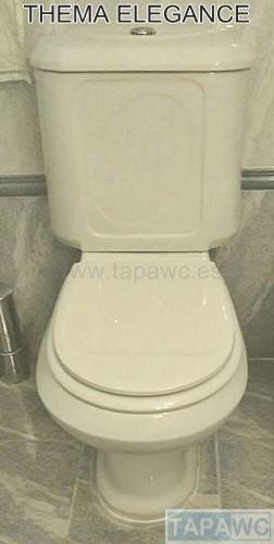 Asiento inodoro THEMA - ELEGANCE tapawc compatible Valadares