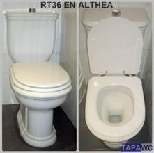 Tapa inodoro  RECTO RT36 DMF tapawc standard