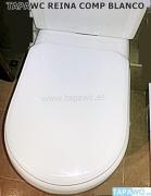 Asiento inodoro REINA tapawc compatible Sanitana
