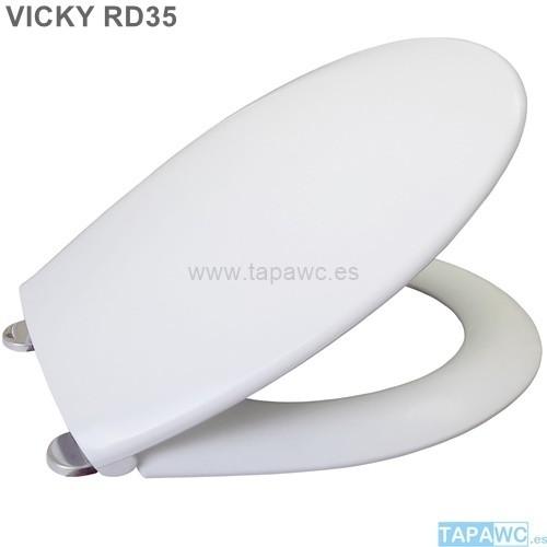 Asiento VICKY ECO INOX tapawc