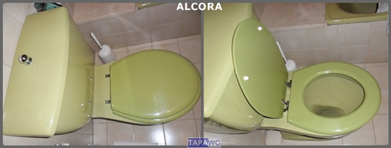 Asiento inodoro ALCORA tapawc compatible Sangra
