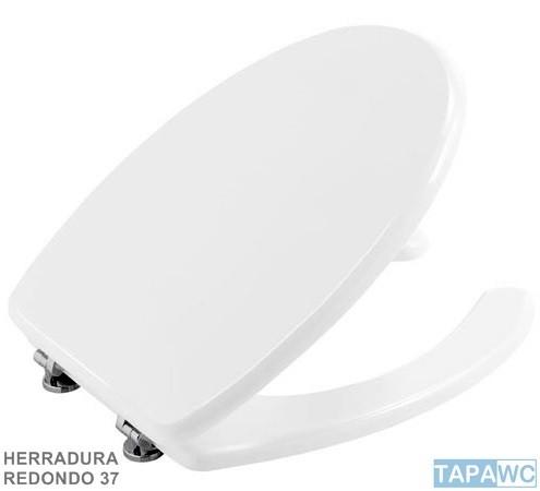 Asiento inodoro HERRADURA DML REDONDO RD37 tapawc standard
