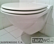 Asiento inodoro SUSPENDIDO tapawc compatible Sangra