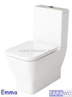 Asiento inodoro EMMA SQUARE tapawc compatible Gala