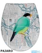 Asiento PAJARO BIRD VICTOR AMORTIGUADO tapawc