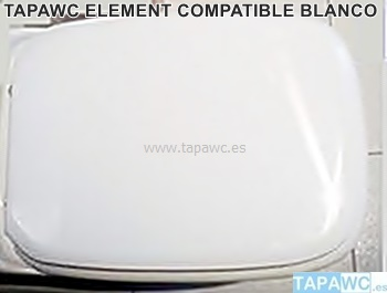 Asiento inodoro ELEMENT tapawc compatible Roca