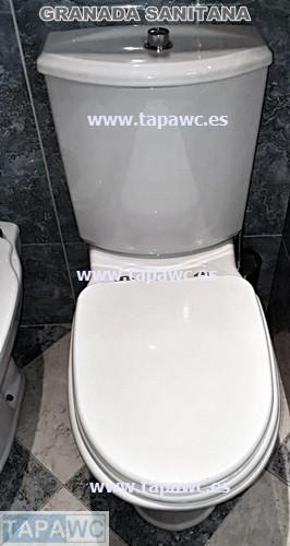 Asiento inodoro GRANADA tapawc compatible Sanitana