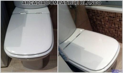 Asiento inodoro ARCADIA tapawc compatible Bellavista