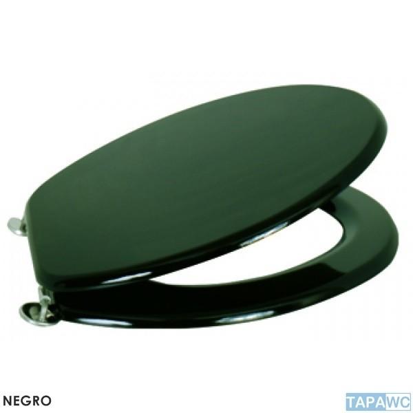 asiento liso negro dm tapawc standard. Black Bedroom Furniture Sets. Home Design Ideas