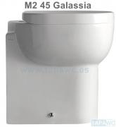 Asiento inodoro M2 - 45 CMS tapawc compatible GALASSIA