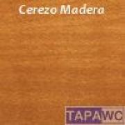 Tapa inodoro compatible CEREZO tapawc madera