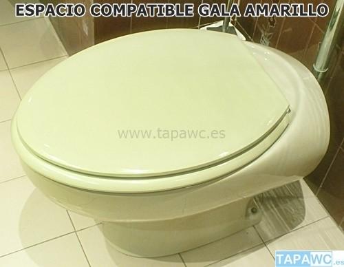 Asiento inodoro espacio tapawc compatible gala for Espacio inodoro