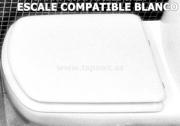 Asiento inodoro ESCALE compatible tapawc Jacob Delafon