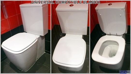 Asiento inodoro UNIVERSAL tapawc compatible Gala