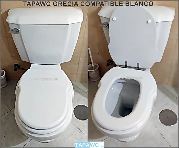 Tapa Wc GRECIA tapawc compatible Sanitana