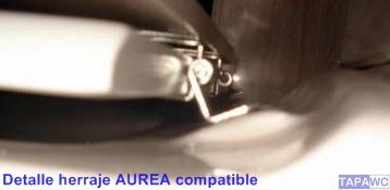 Asiento inodoro AUREA tapawc compatible Gala