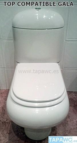 Asiento inodoro TOP tapawc compatible Gala