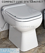 Asiento COMPACT LUXE tapawc compatible SFA-SANITRIT