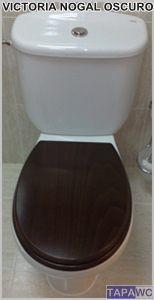 Asiento inodoro VICTORIA tapawc compatible Roca