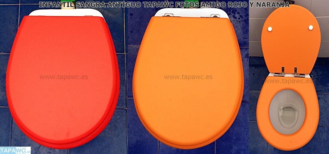 Asiento inodoro INFANTIL SANGRA ANT tapawc compatible