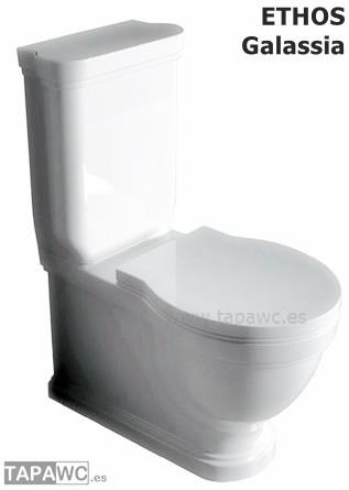 Asiento inodoro ETHOS tapawc compatible GALASSIA