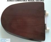 Asiento inodoro AUREA madera NOGAL OSCURO tapawc compatible Gala