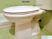 Asiento inodoro DUNE tapawc compatible Duravit