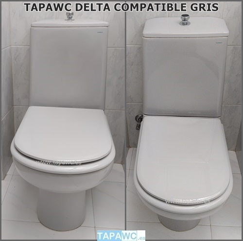 Tapa Wc DELTA Tapawc Compatible Porsan Sangra