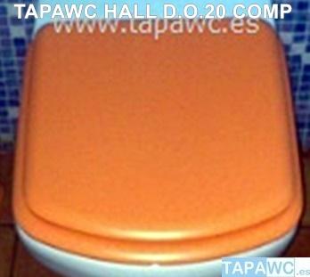 Asiento inodoro HALL SUSPENDIDO d.o.20 tapawc compatible Roca