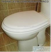 Asiento inodoro ELIA tapawc compatible Gala