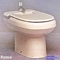 Tapa bide ROMA compatible Porsan Sangra